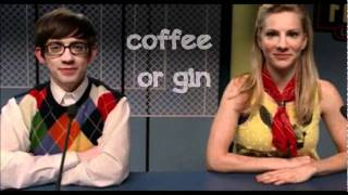 Glee - My Cup (Brittany S. Pierce & Artie Abrams) - Lyrics Video