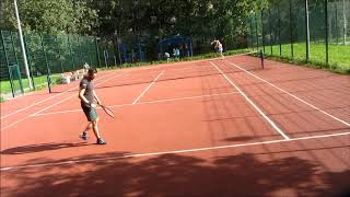 Данила Пыленок / Митя Баев (тренировка-игра перед турниром после вируса)