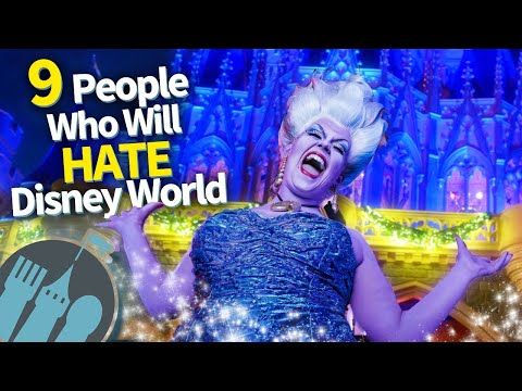 9 People Who Are Going to Hate Disney World