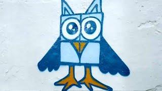 Уличные художники против свастики