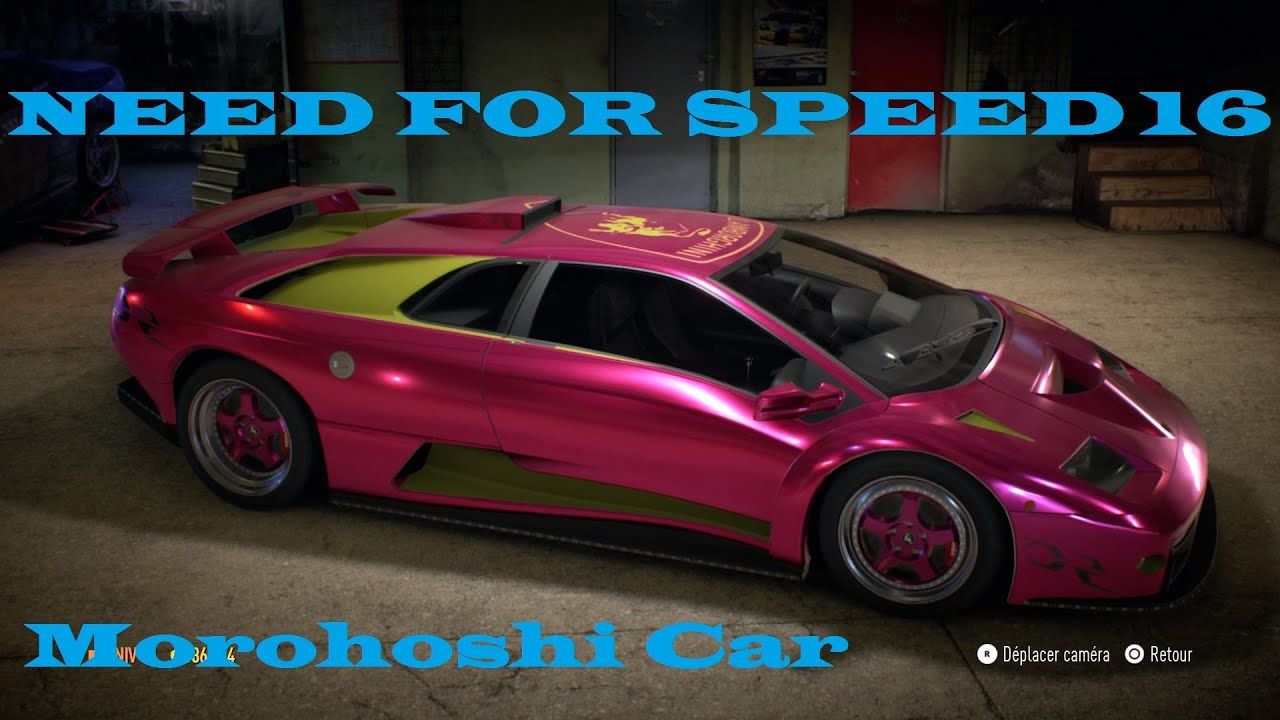 need for speed 16 morohoshi car new maj youtube. Black Bedroom Furniture Sets. Home Design Ideas