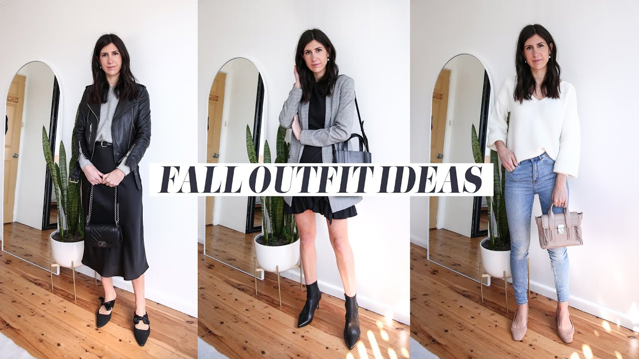 [VIDEO] - SPRING & FALL OUTFIT IDEAS | Mademoiselle 7