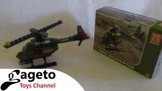 Emco Brix #4 Emco Brix Army Helicopter dan Cara Membuatnya