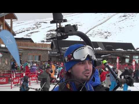 "Google fotografia las pistas de Sierra Nevada para ""Spanish mountain view"" 3D FullHD"