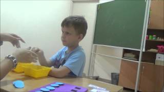 "занятие по методу АВА , центр ""Ступени"", г. Барнаул"