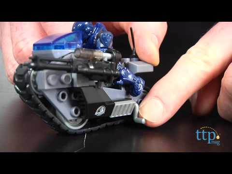 Halo Unsc Siege Bike From Mega Bloks Youtube