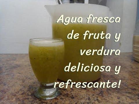 AGUA FRESCA FRUTIVERDURA DELICIOSA!!! - Lorena Lara