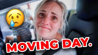 Ellie and Jared MOVING DAY! | Emotional Goodbye