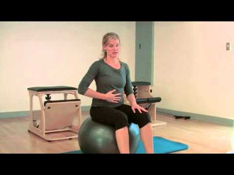 Core Exercises With An Exercise Ball