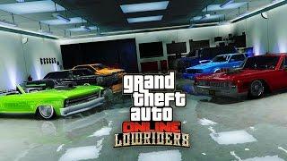 MON GARAGE LOWRIDER ! - GTA 5 ONLINE