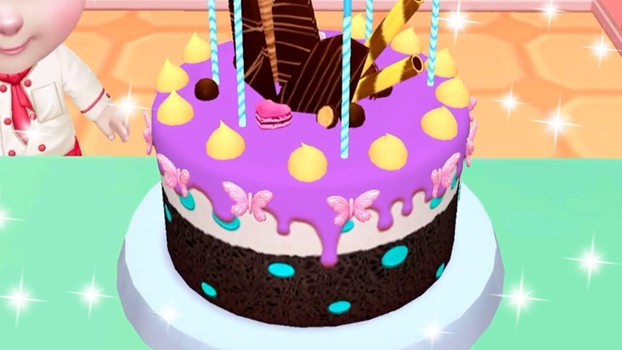 Real Cake Maker 3D Bakery   Juego De Tortas   Juegos Divertidos De Cocina  De Pasteles Para Niños