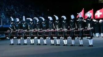 Top Secret Drum Corps Edinburgh Military Tattoo 2009