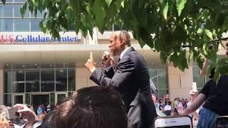 6/9/19 Cory Booker speech in front of Democrat's HOF event Cedar Rapids