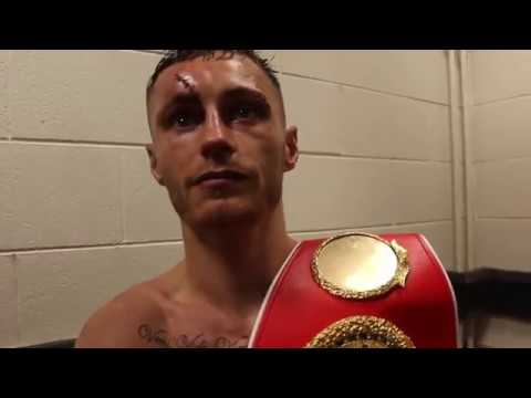 AND THE NEW! - RYAN BURNETT REACTS TO BEATING LEE HASKINS TO BECOME IBF WORLD CHAMPION