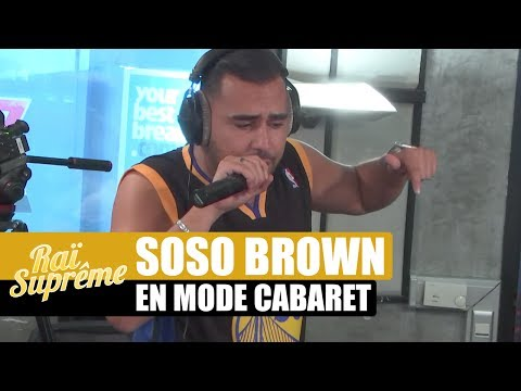 Soso Brown en mode cabaret #RaïSuprême