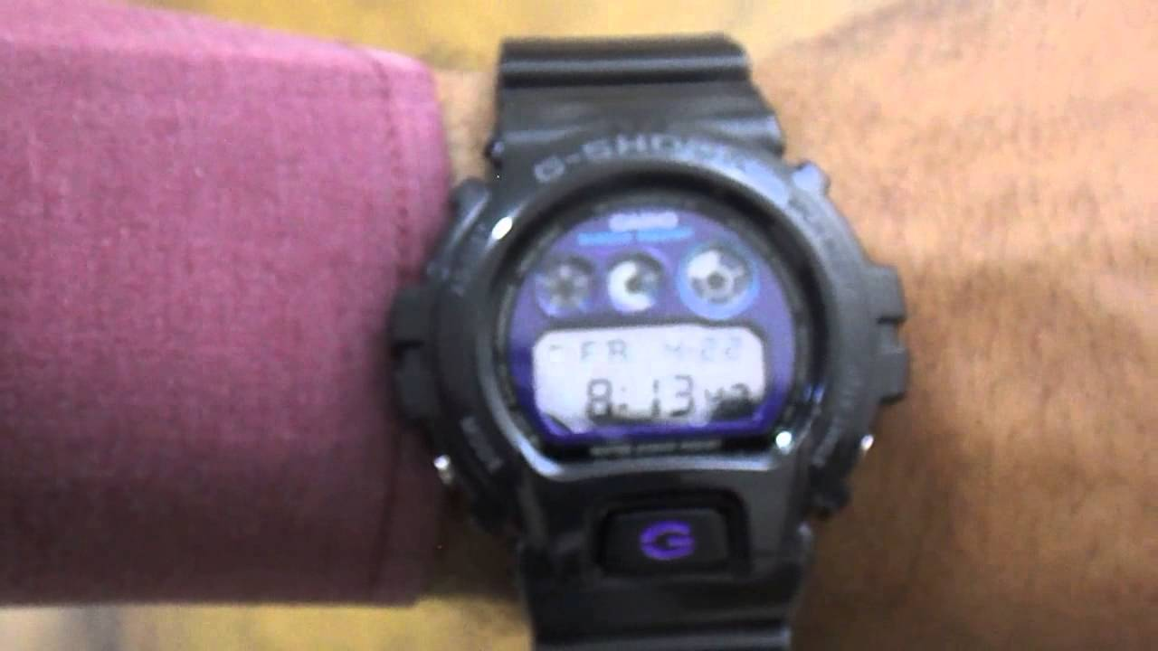cfb6f31d85c Relógio Casio G-Shock DW-6900MF-1DR - YouTube