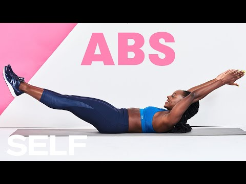 30-Minute Bodyweight Abs Workout - HIIT Cardio At Home | SELF