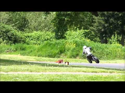 Team Farfle Electric Supermoto-- First Track Day