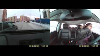 Нормальная ситуация на дорогах Нового Уренгоя