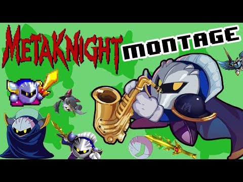 Meta Knight Montage - SSB4 Wii U