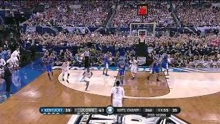 UConn VS kentucky, the 2014 NCAA finals, recap