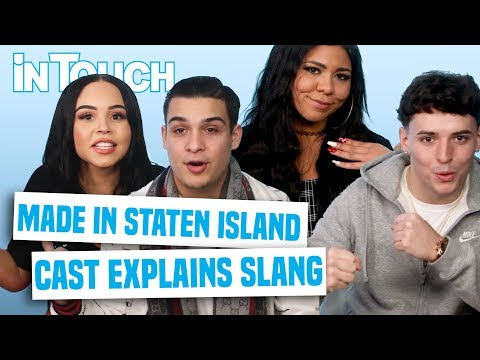 Made In Staten Island Cast Explains NYC Slang