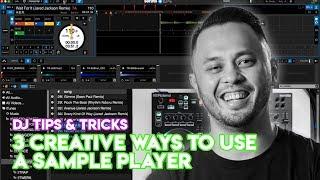 3 Creative Ways T๐ Use A DJ App's Sample Player - DJ Tips & Tricks