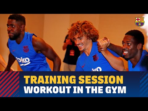 first-team's-fun-gym-session-in-tokyo