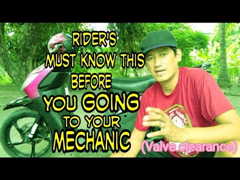You must know this before you going to your mechanic. (tagalog).