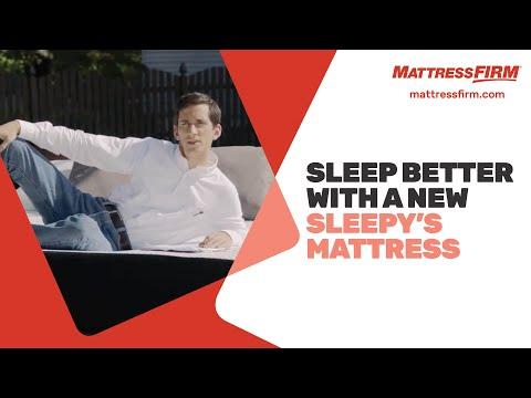 Sleep Better with A New Sleepy's Mattress