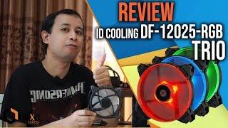 WOW FAN RGB KEREN ABIS! Review ID-COOLING DF-12025-RGB | Hexatekno.com