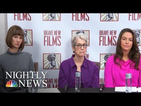 Trump Accusers Share Stories, Senators Call For Congressional Investigation | NBC Nightly News