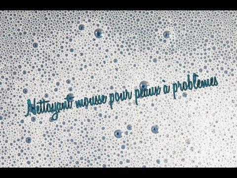★☆ Nettoyant visage mousse : peaux à problèmes ☆★