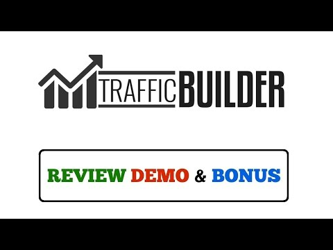 Traffic Builder Review Demo Bonus - Free Targeted Buyers To Your Store Without Paying For Ads