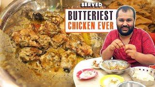 Exploring Aslam's Famous Butter Chicken   Delhi Street Food   Served#10