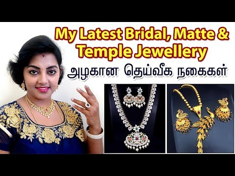My Latest Bridal & Temple Jewellery Collection - Affordable price & Matte Finished Jewellery !!!