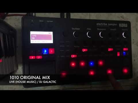 DJ Galactic  - 1010 (Original mix) with Korg Electribe Sampler2