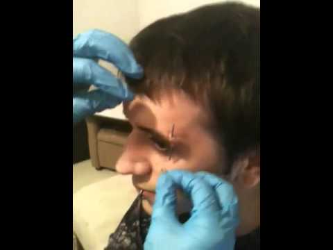 The Correct Way To Pierce Your Eyebrow At Home Youtube