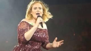 Adele Live *Set Fire to the Rain* Brisbane @ Gabba 5/03/17