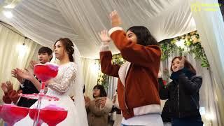 Giới Trẻ Giáo Xứ La Vân cùng cô dâu chú rể với vũ khúc Vào Đời