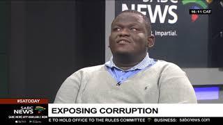 Exposing corruption with Melusi Ncala