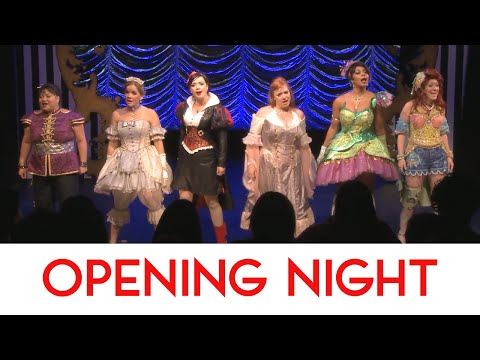 Opening Night at DISENCHANTED! A New Musical Comedy