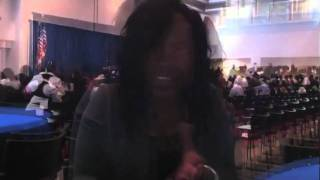 Felecia Hatcher at the 13th Annual AOF Student Industry Conference