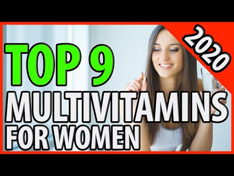 Best Multivitamin For Women 2020 | TOP 9