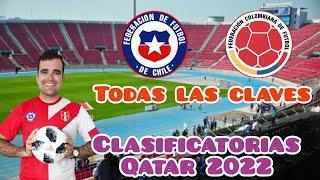 Previa Chile vs Colombia - Alineaciones y claves del partido - Clasificatorias Qatar 2022 fecha 2