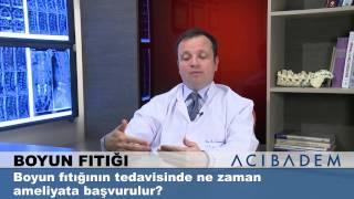 Boyun fıtığının tedavisinde ameliyata ne zaman başvurulur?