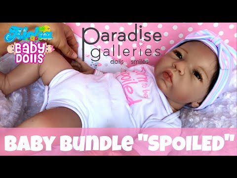 "💎""Born To Be Spoiled""💎 New Paradise Galleries, Baby Bundle Doll! 🎀 Unboxing & Details.👶🏽"