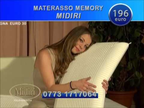 Midiri Materassi In Lattice.Offerta Tv Materasso Memory Casastar Youtube