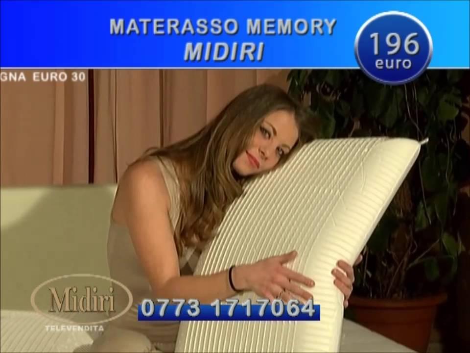Midiri Materassi In Lattice.Offerta Tv Materasso Memory Casastar Youtube