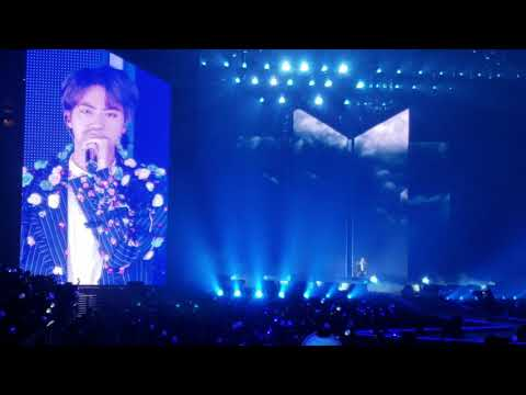 Fancam - BTS  Love Yourself OAKLAND 방탄소년단 Trivia Seesaw SUGA Solo &  Epiphany JIN Solo Live